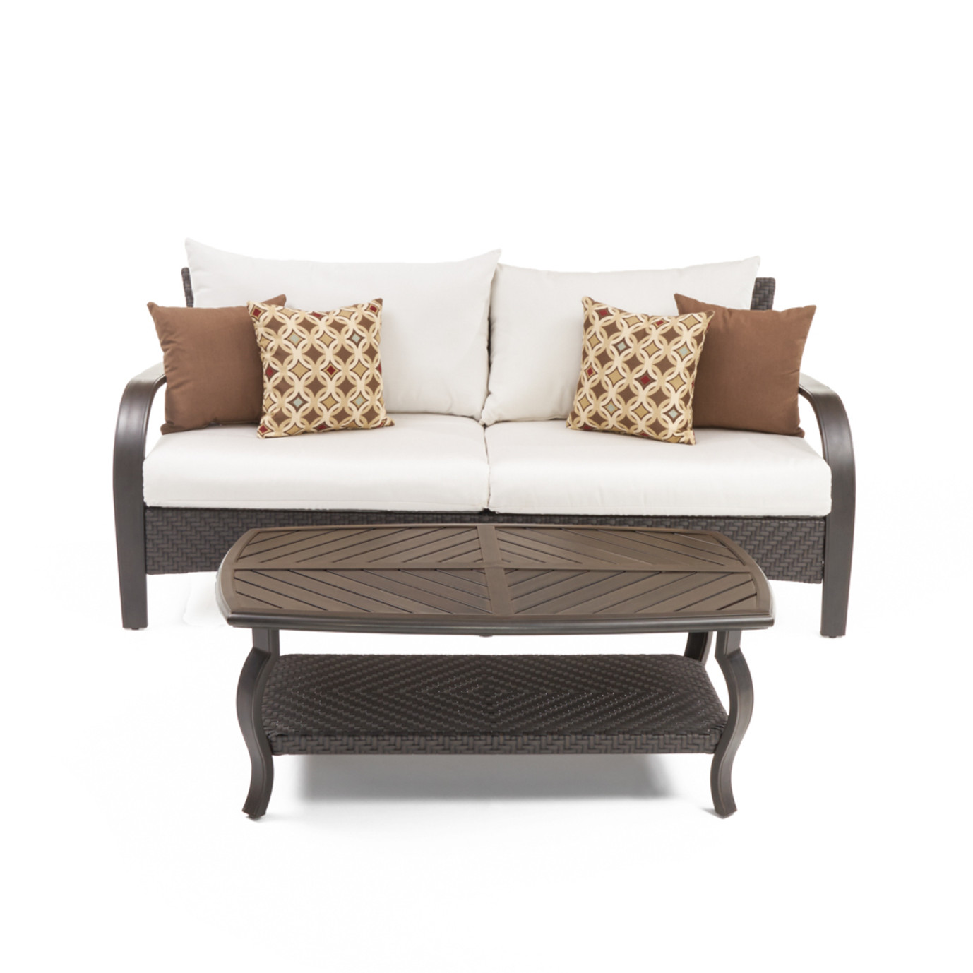 Barcelo™ Sofa & Coffee Table - Moroccan Cream