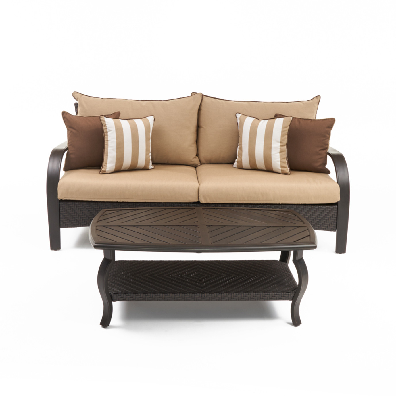 Barcelo™ Sofa & Coffee Table - Maxim Beige