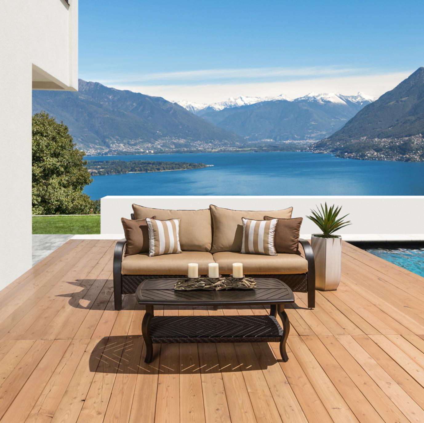 Barcelo™ Sofa & Coffee Table - Maxim Beige