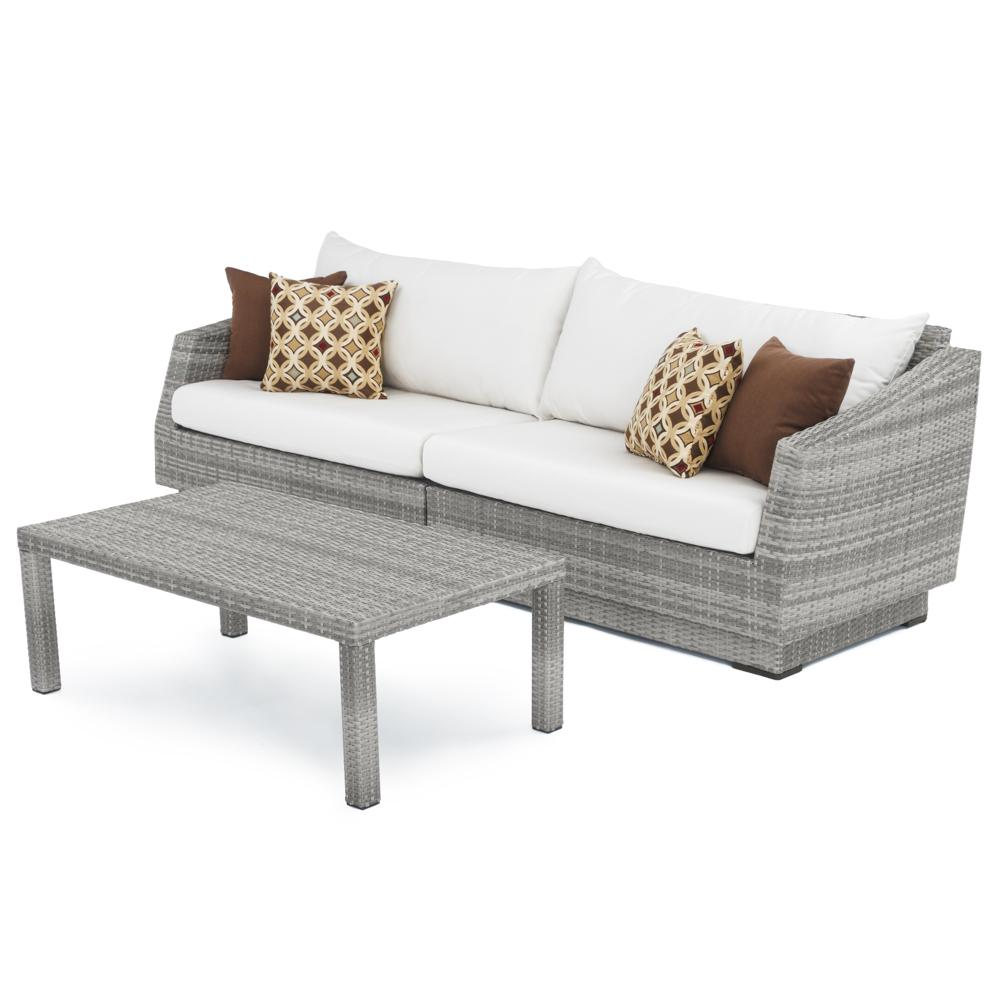 Cannes Sofa and Coffee Table - Moroccan Cream