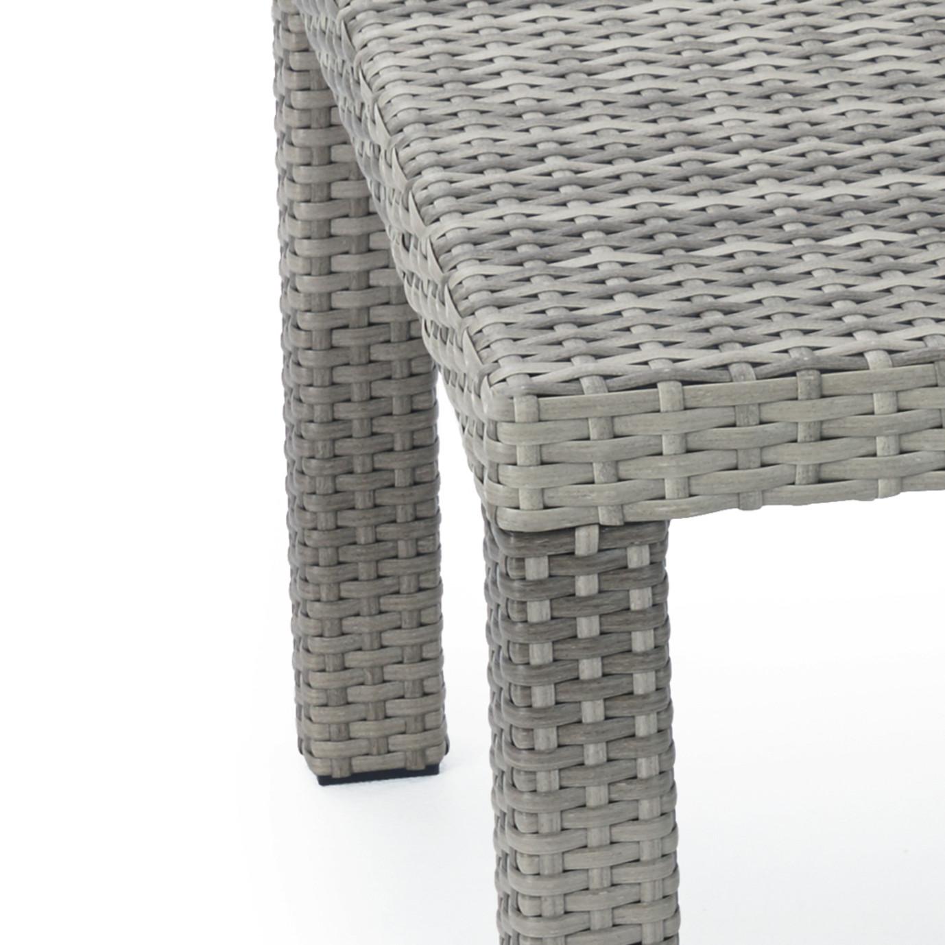 Cannes™ Sofa and Coffee Table - Slate Grey