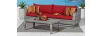 Cannes™ Sofa & Coffee Table - Spa Blue