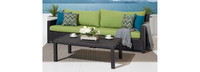 Deco™ Sofa with Coffee Table - Ginkgo Green