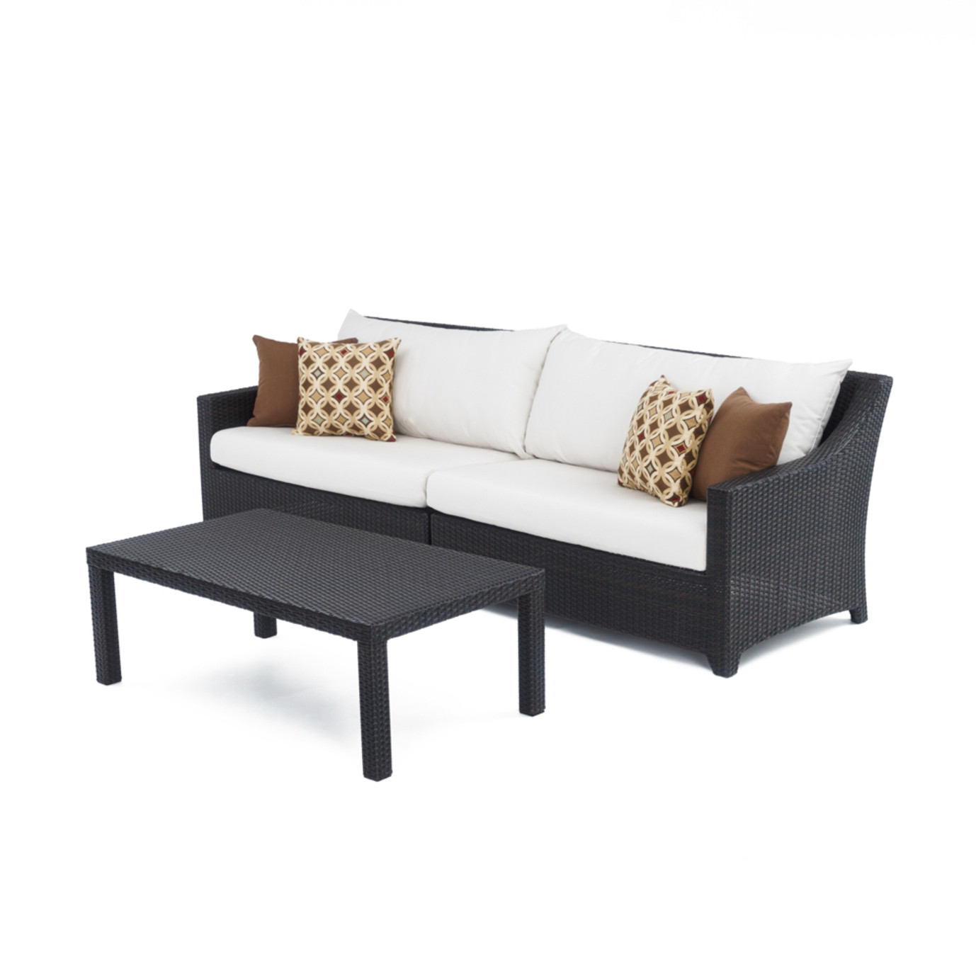 Deco™ Sofa with Coffee Table - Moroccan Cream