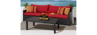 Deco™ Sofa with Coffee Table - Navy Blue