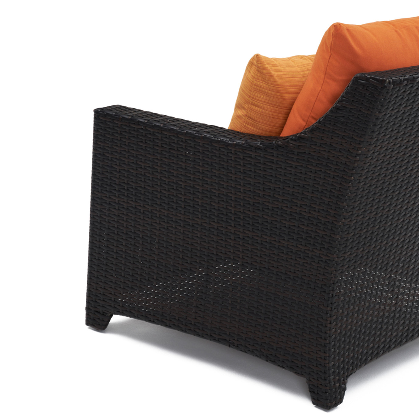 Deco™ Sofa with Coffee Table - Tikka Orange