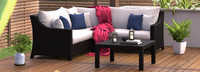 Deco™ 4 Piece Sectional and Table - Bliss Ink