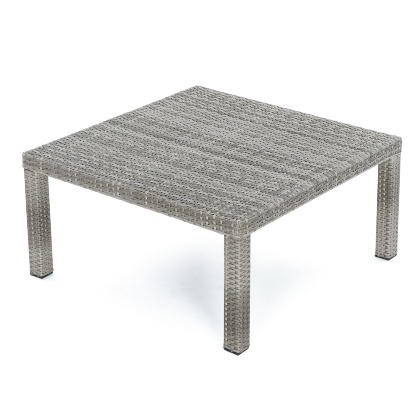 Cannes™ 4pc Sectional & Table - Charcoal Gray