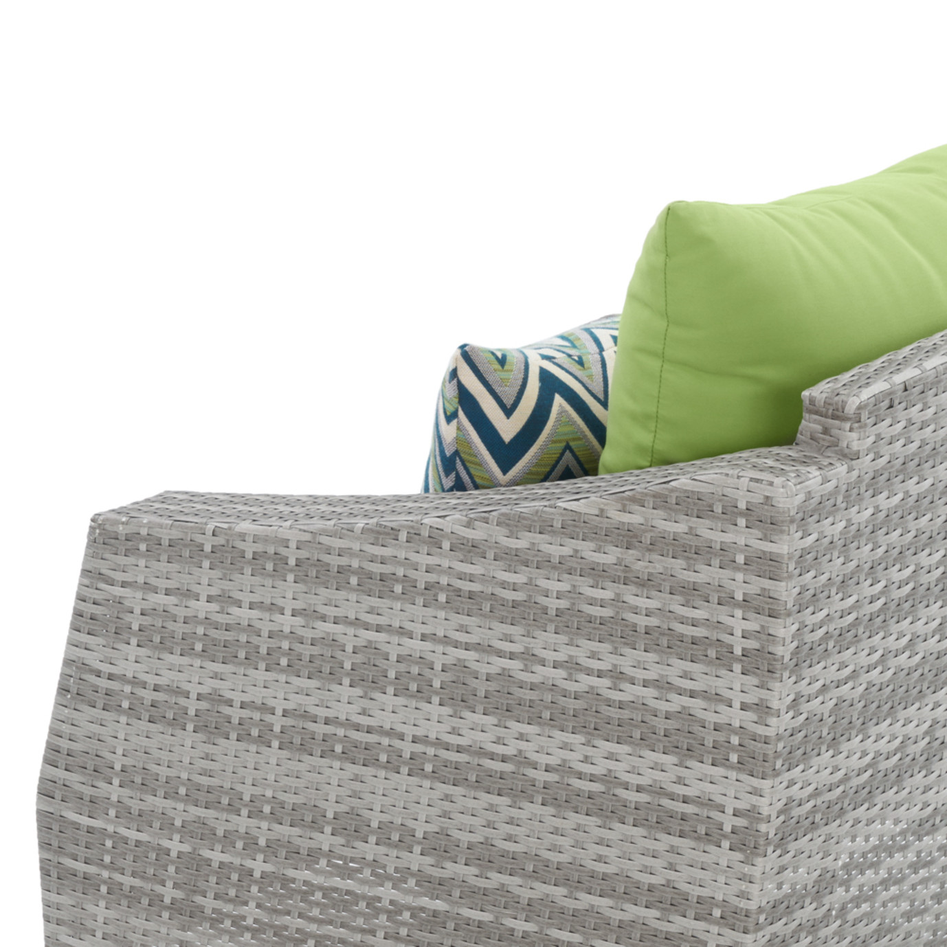 Cannes™ 4pc Sectional & Table - Ginkgo Green