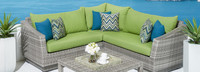 Cannes™ 4 Piece Sectional & Table - Maxim Beige