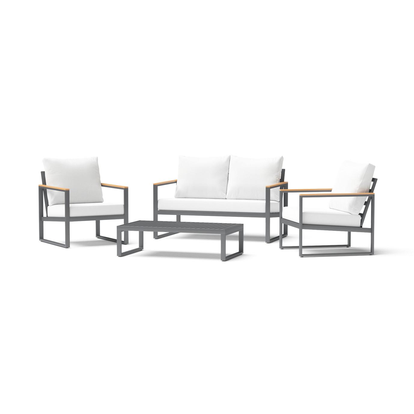 Enro 4 Piece Seating Set