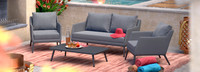Gaveni 4 Piece Seating Set - Gray