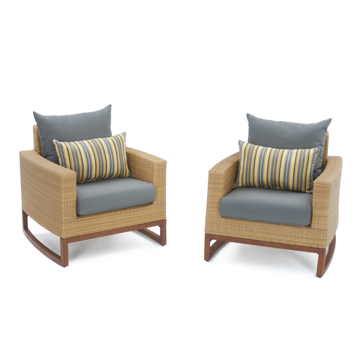 Mili™ 4pc Seating Set - Charcoal Gray