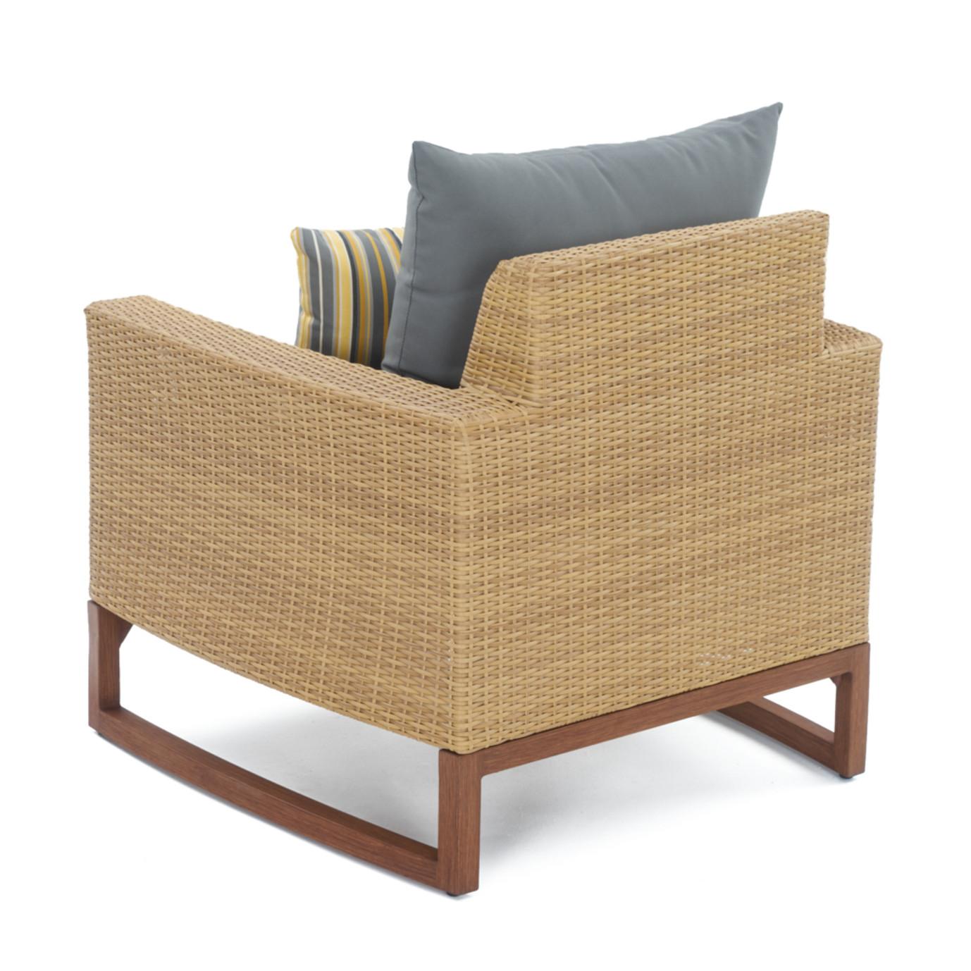 Mili™ 4pc Seating Set - Charcoal Grey