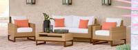Mili™ 4 Piece Seating Set - Cast Coral