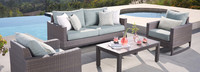 Milea™ 4 Piece Seating Set - Mist Blue