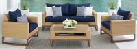 Mili™ 4 Piece Seating Set - Maxim Beige