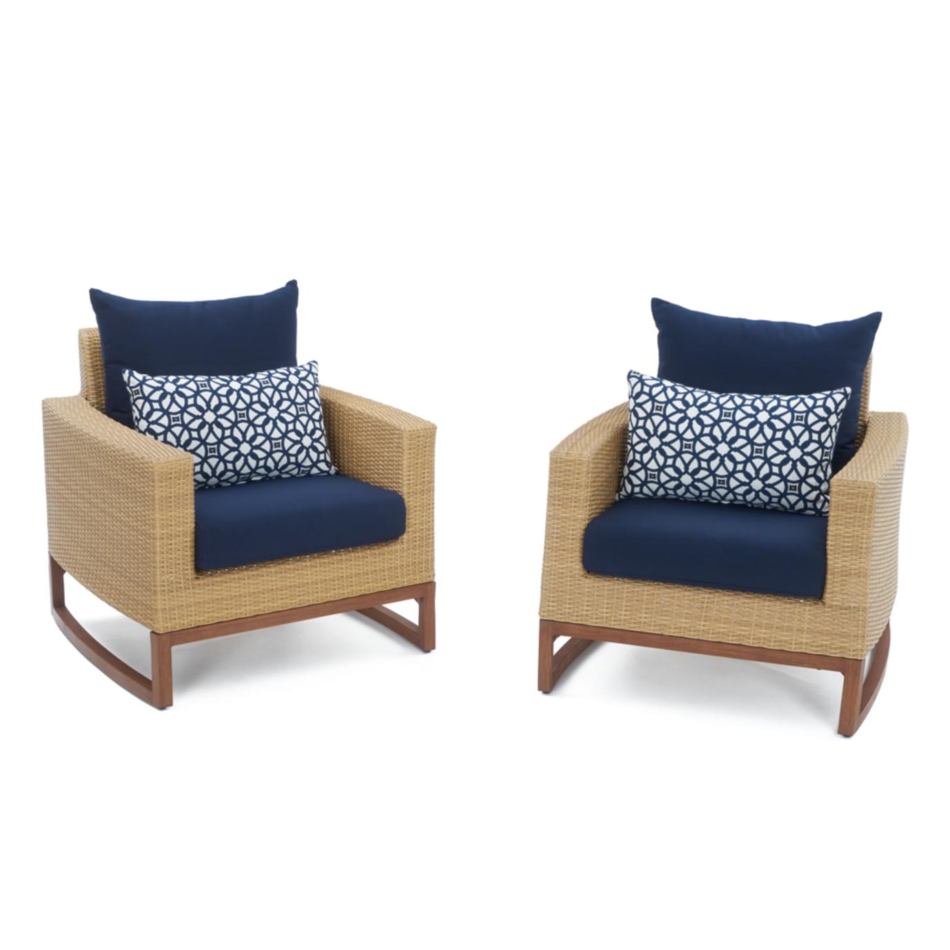 Mili™ 4pc Seating Set - Navy Blue