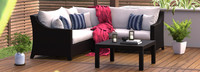 Deco™ 4 Piece Sectional and Table - Maxim Beige
