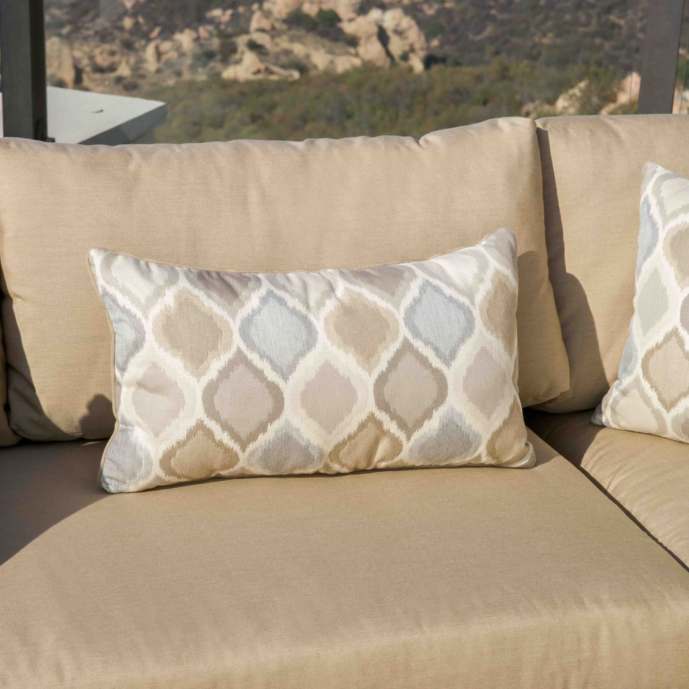 Portofino™ Comfort Moda 4pc Sectional - Heather Beige