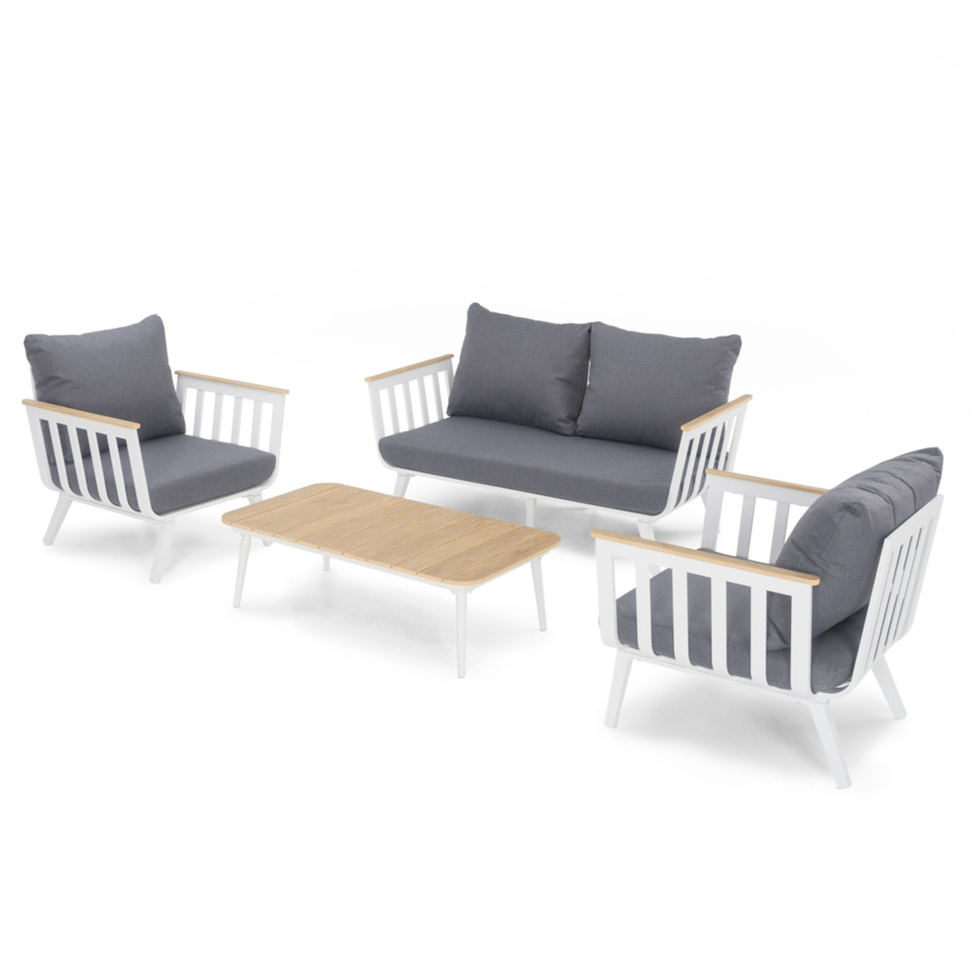 Vera™ 4pc Seating Group - Charcoal Grey