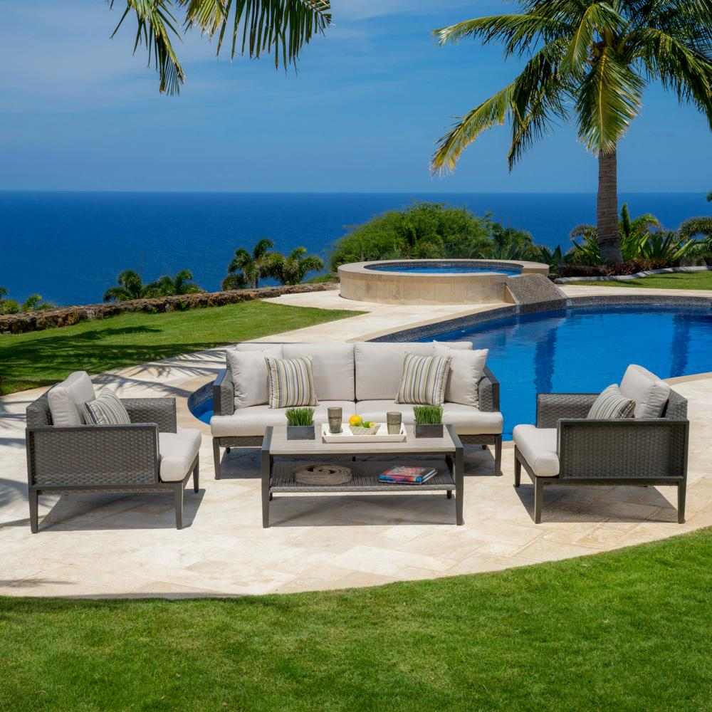 vistano 4pc sofa seating group - Rst Brands
