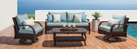 Barcelo™ 4 Piece Motion Seating Set - Cast Coral