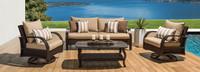 Barcelo™ 4 Piece Motion Club & Sofa Set - Maxim Beige