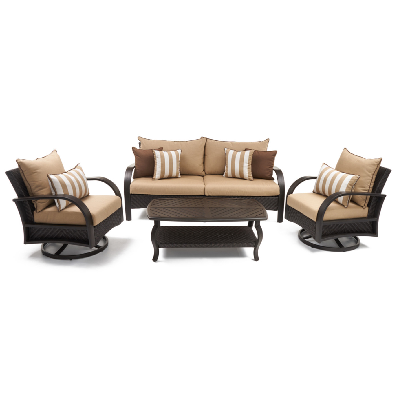 Barcelo™ 4pc Motion Club & Sofa Set - Maxim Beige