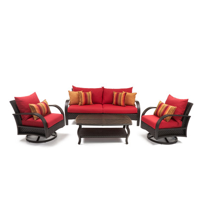 Barcelo™ 4 Piece Motion Club & Sofa Set