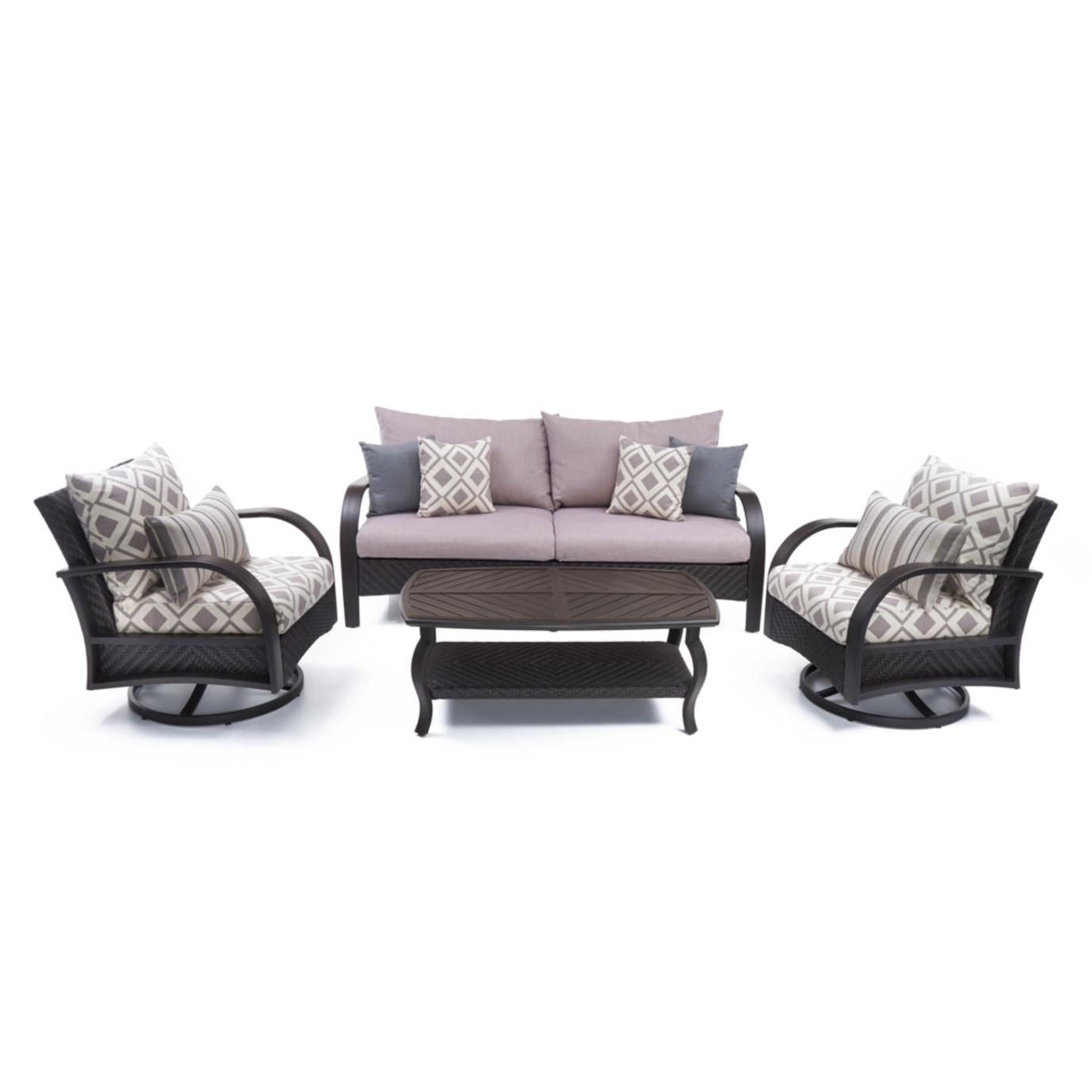 Barcelo™ 4pc Motion Club & Sofa Set - Wisteria Lavender