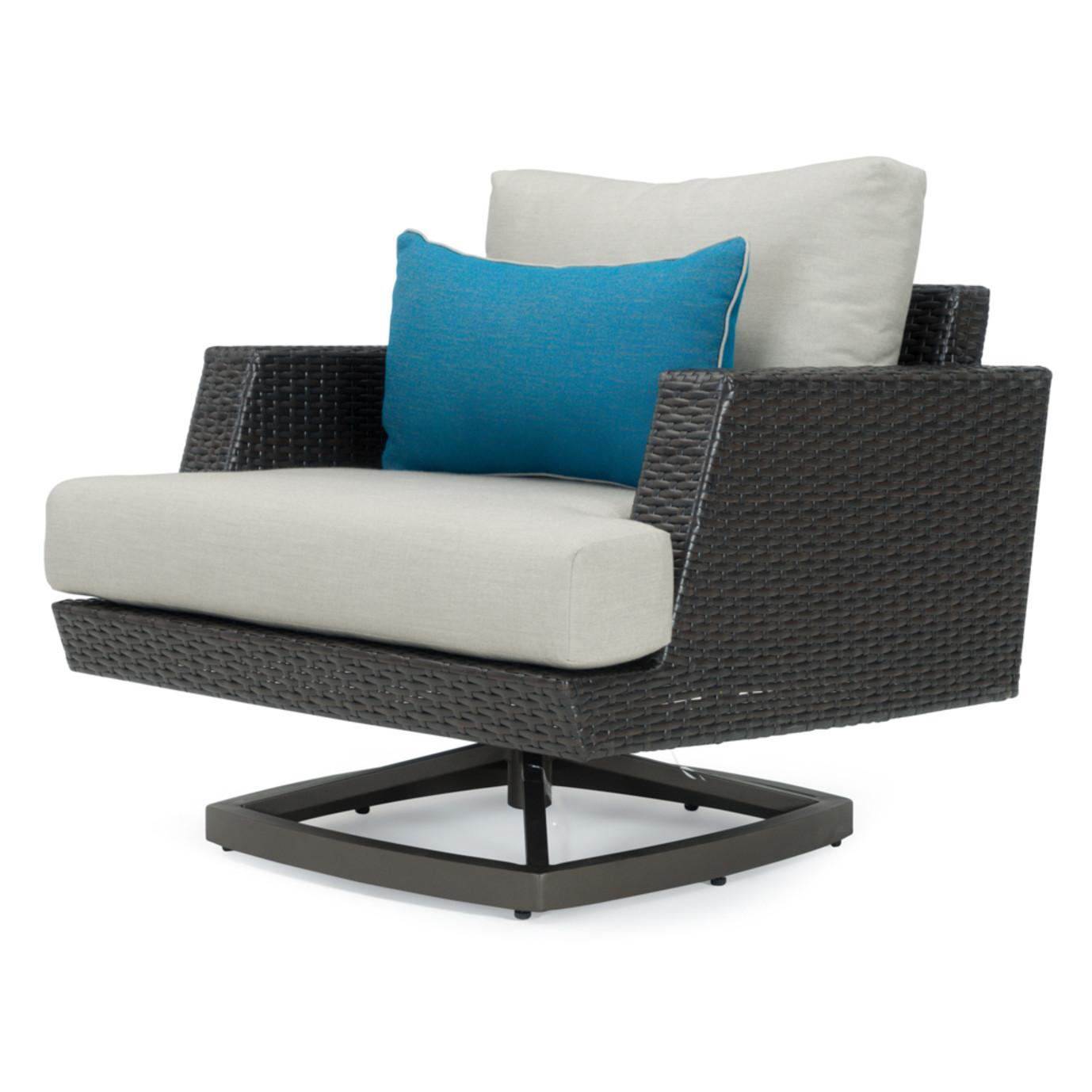 Portofino® Casual 4 Piece Motion Fire Seating Set - Dove Gray