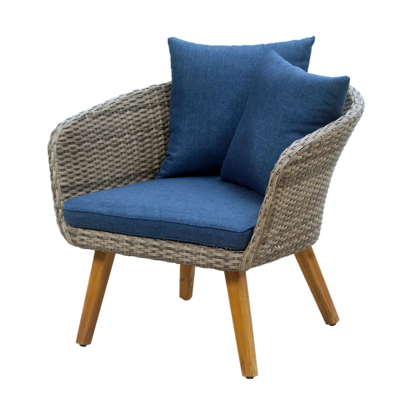 Sota 5pc Seating Set - Dark Blue