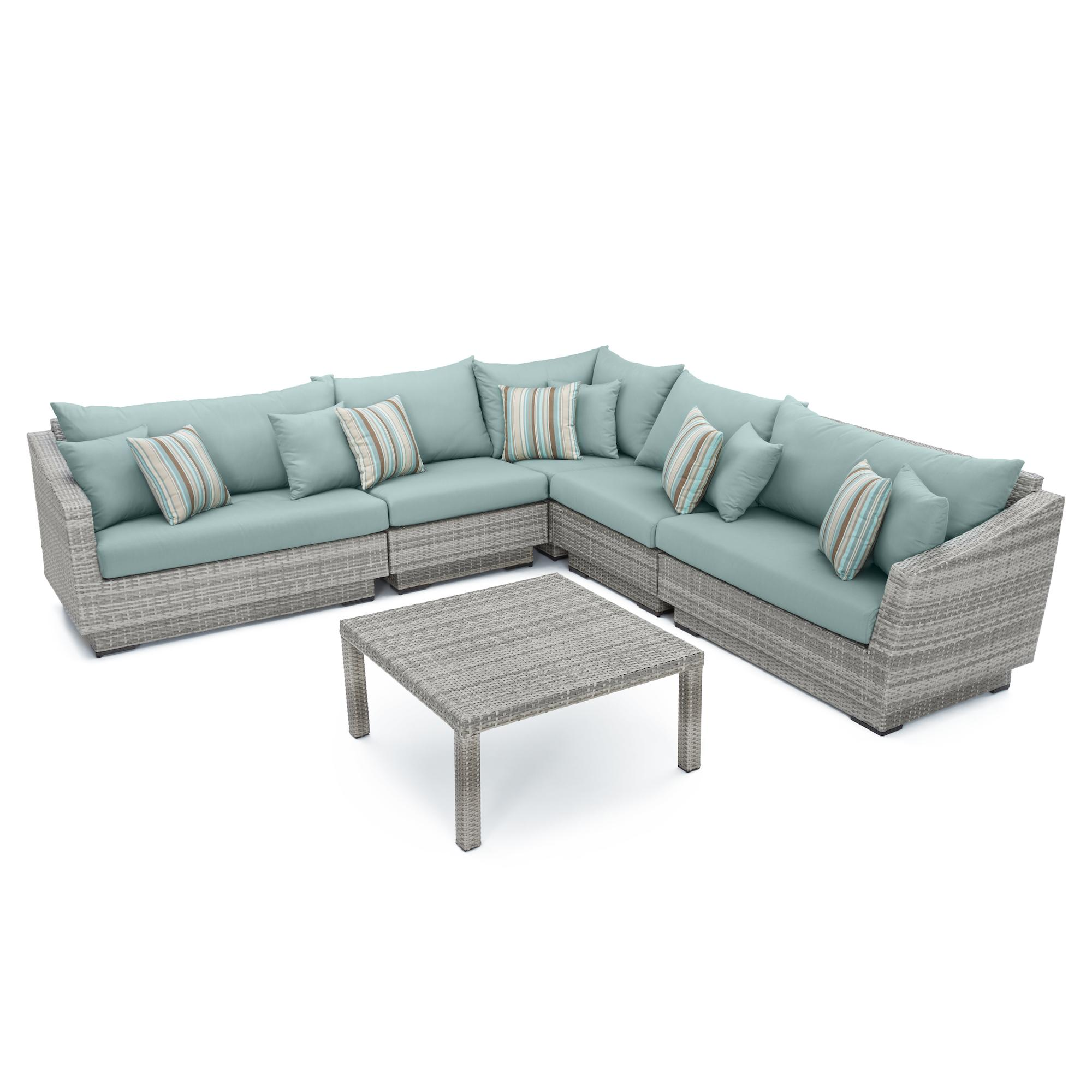 ... Cannes™ 6pc Sectional U0026 Table   Bliss ...