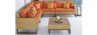 Mili™ 6 Piece Sofa Sectional - Charcoal Gray