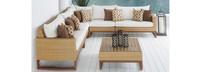 Mili™ 6 Piece Sofa Sectional - Moroccan Cream