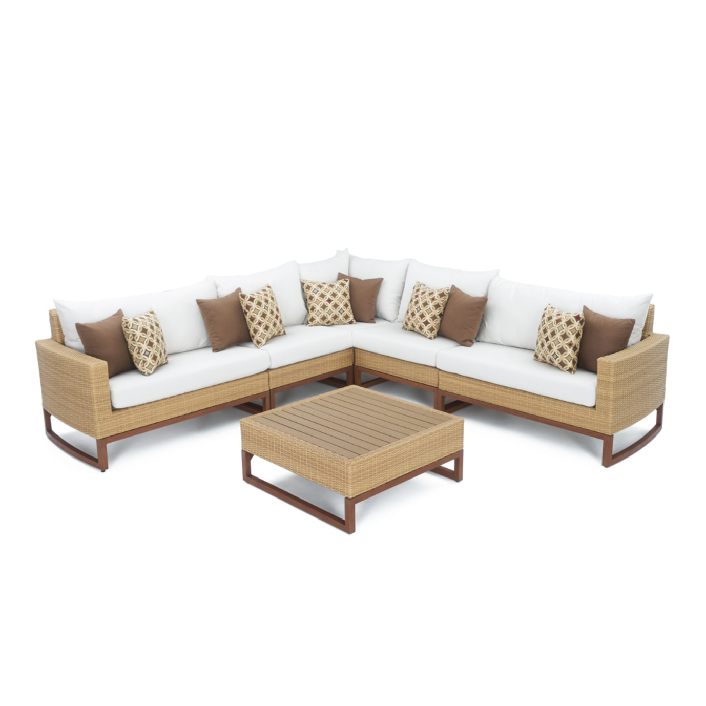 Mili™ 6pc Sofa Sectional - Moroccan Cream
