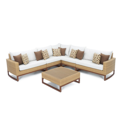 Magnificent Mili 6 Piece Sofa Sectional Moroccan Cream Gmtry Best Dining Table And Chair Ideas Images Gmtryco