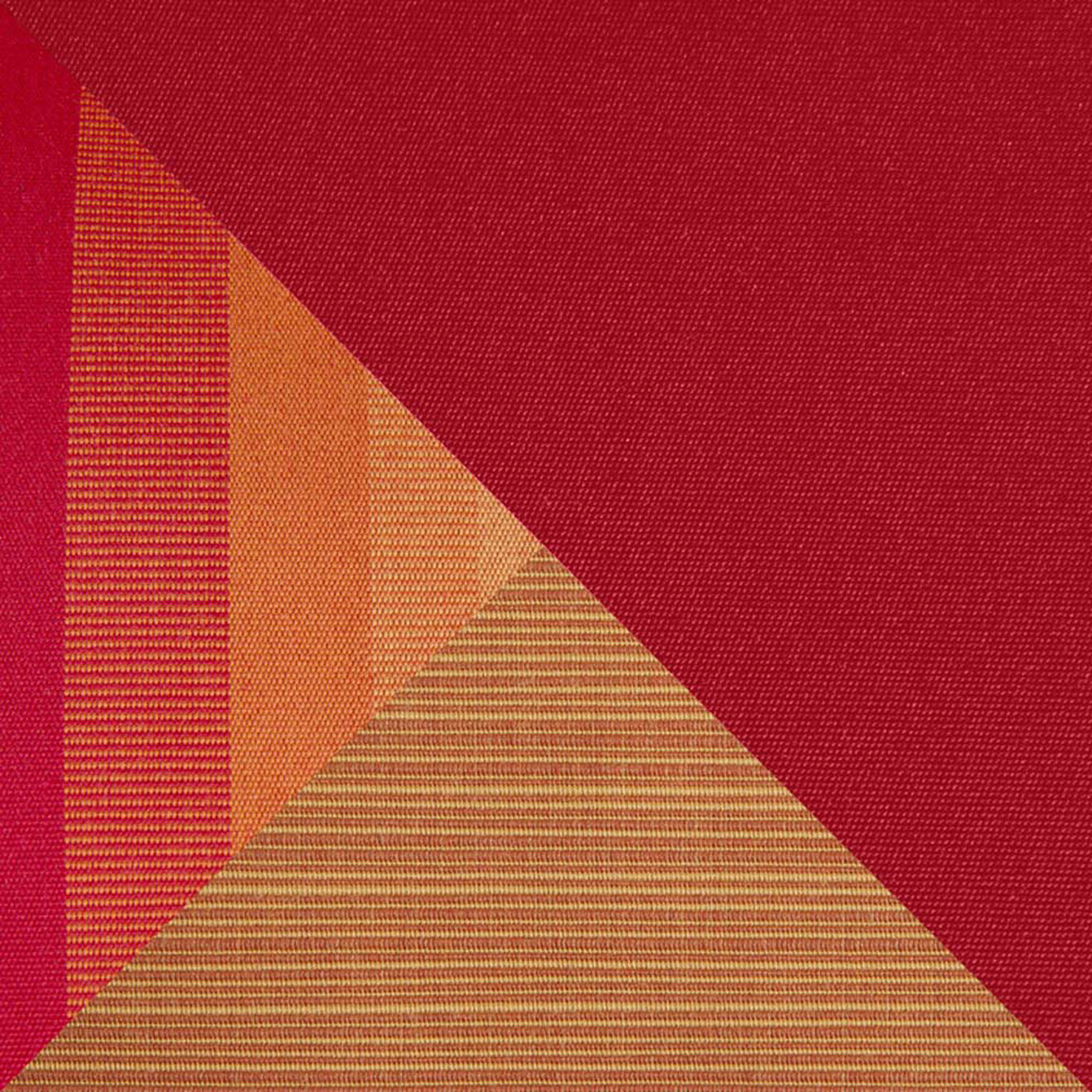 Milo Espresso 6 Piece Sectional - Sunset Red