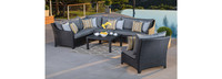 Deco™ 6 Piece Sectional and Table - Moroccan Cream