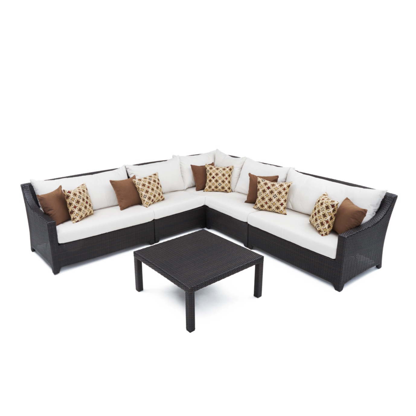 Deco™ 6pc Sectional and Table - Moroccan Cream