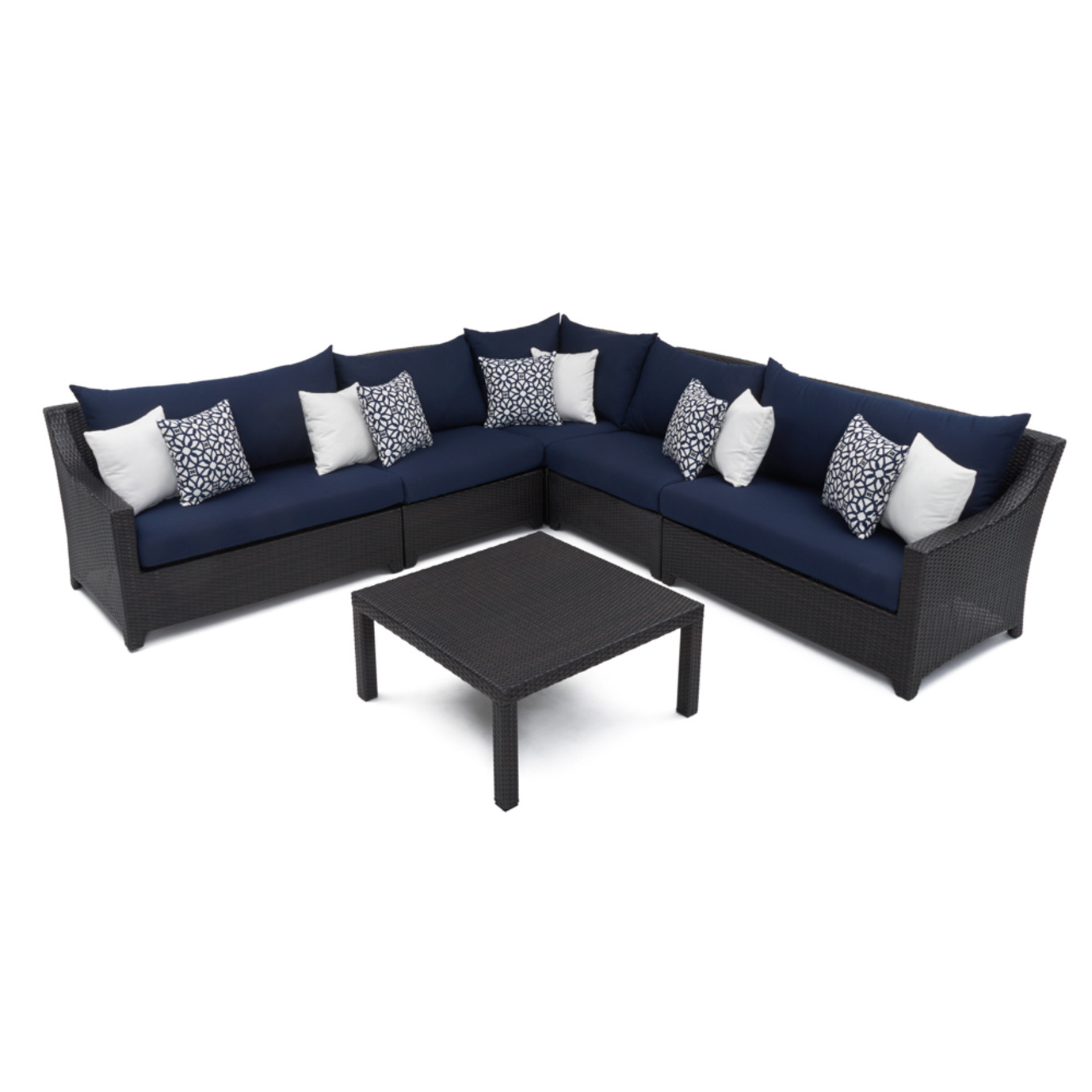 Deco™ 6 Piece Sectional and Table