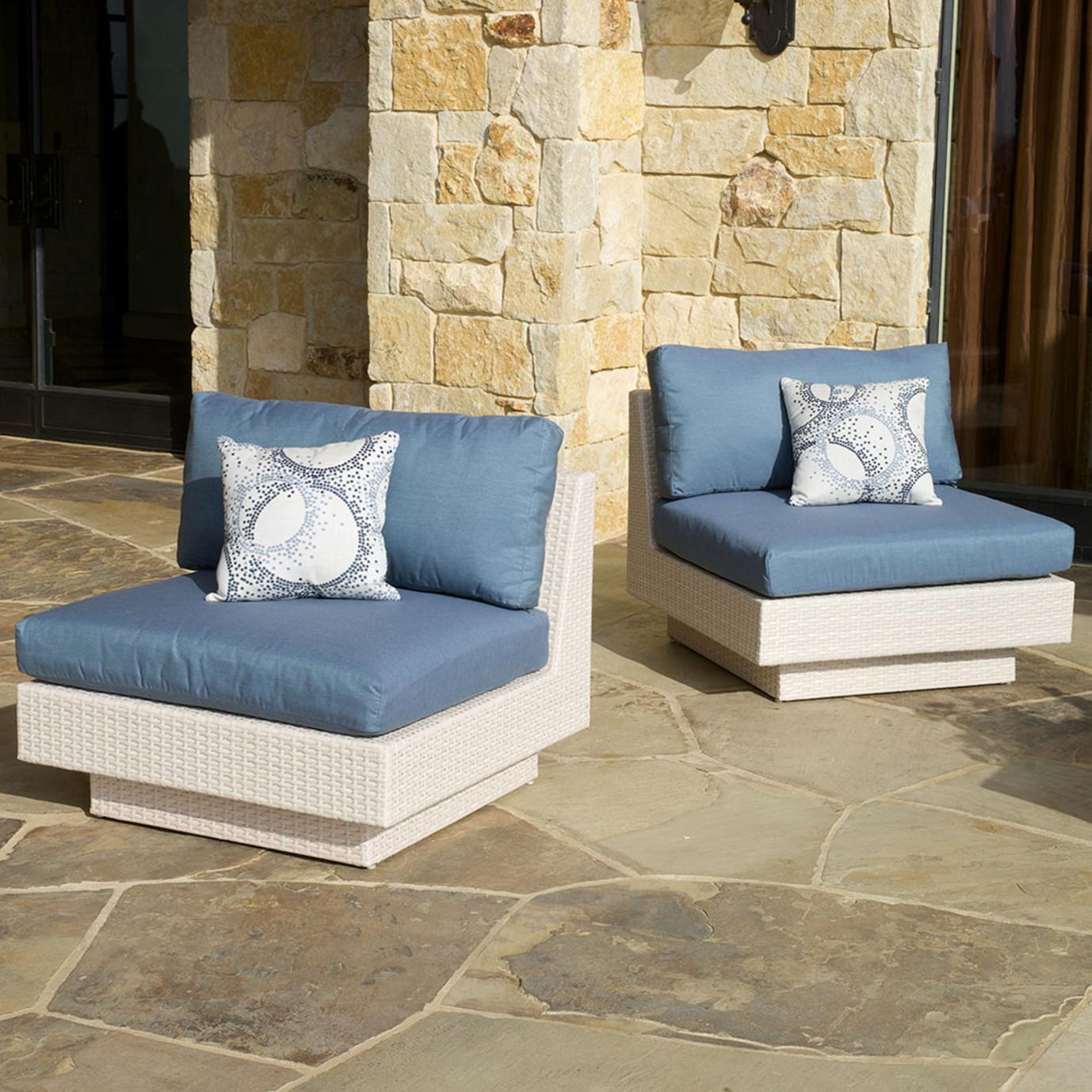Portofino™ Comfort 6pc Sectional - Newport Blue
