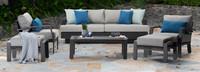 Portofino® Repose 6 Piece Seating Set - Dove Gray