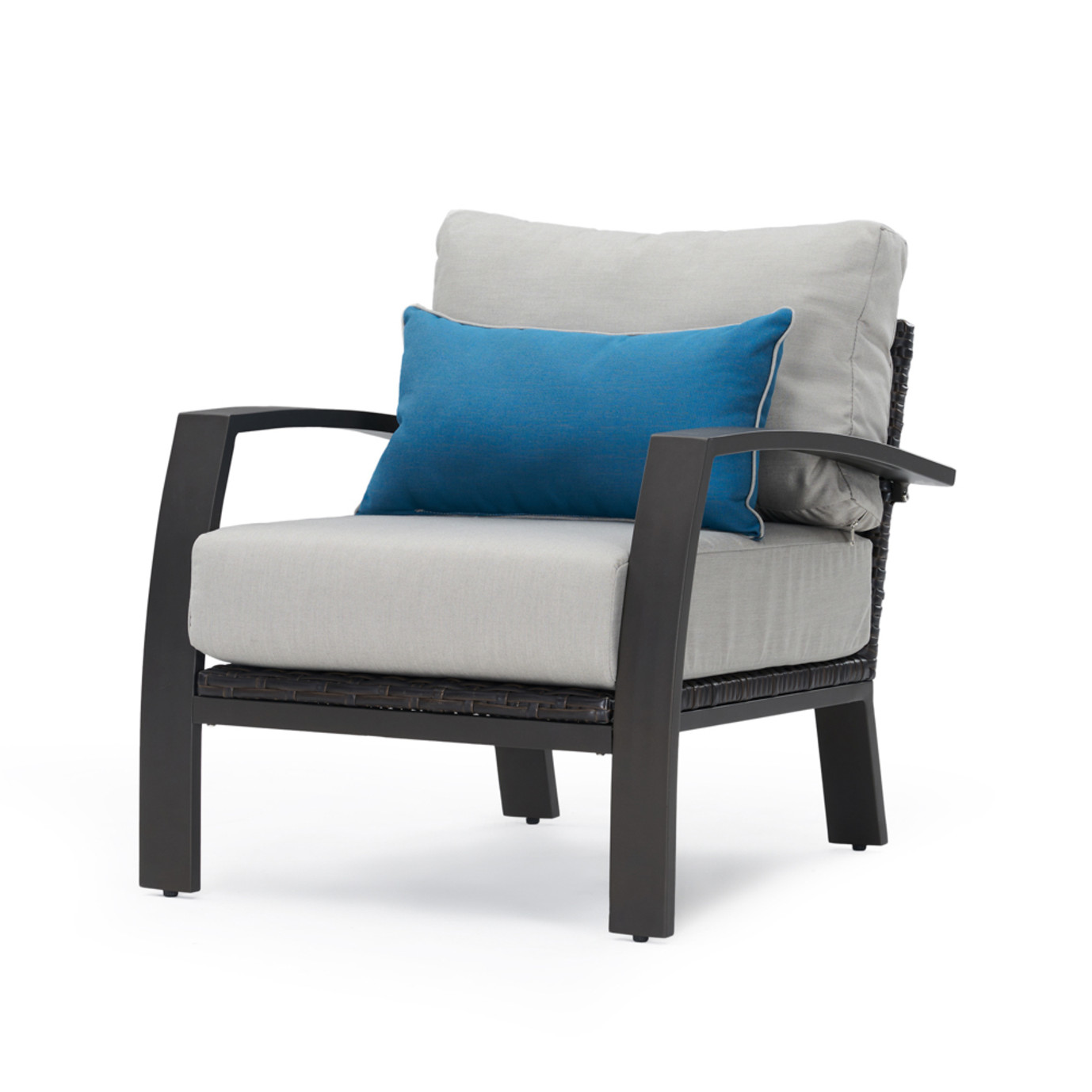 Portofino Repose 6 Piece Seating Set - Dove Gray