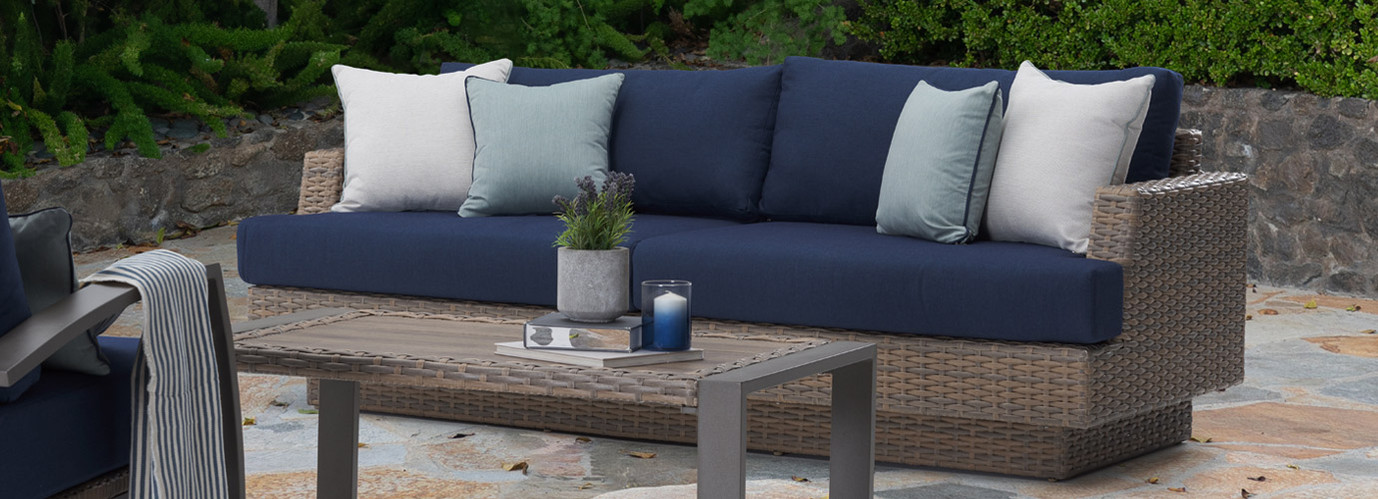 Portofino® Repose 6pc Seating Set - Laguna Blue