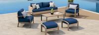 Portofino® Repose 6pc Seating Set - Laguna Blue
