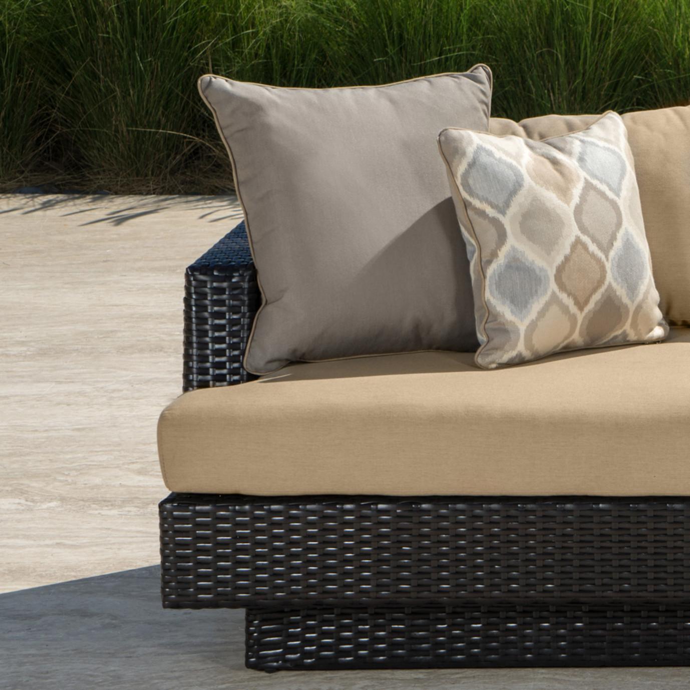 Portofino Comfort 6pc Sofa Sectional Heather Beige Rst