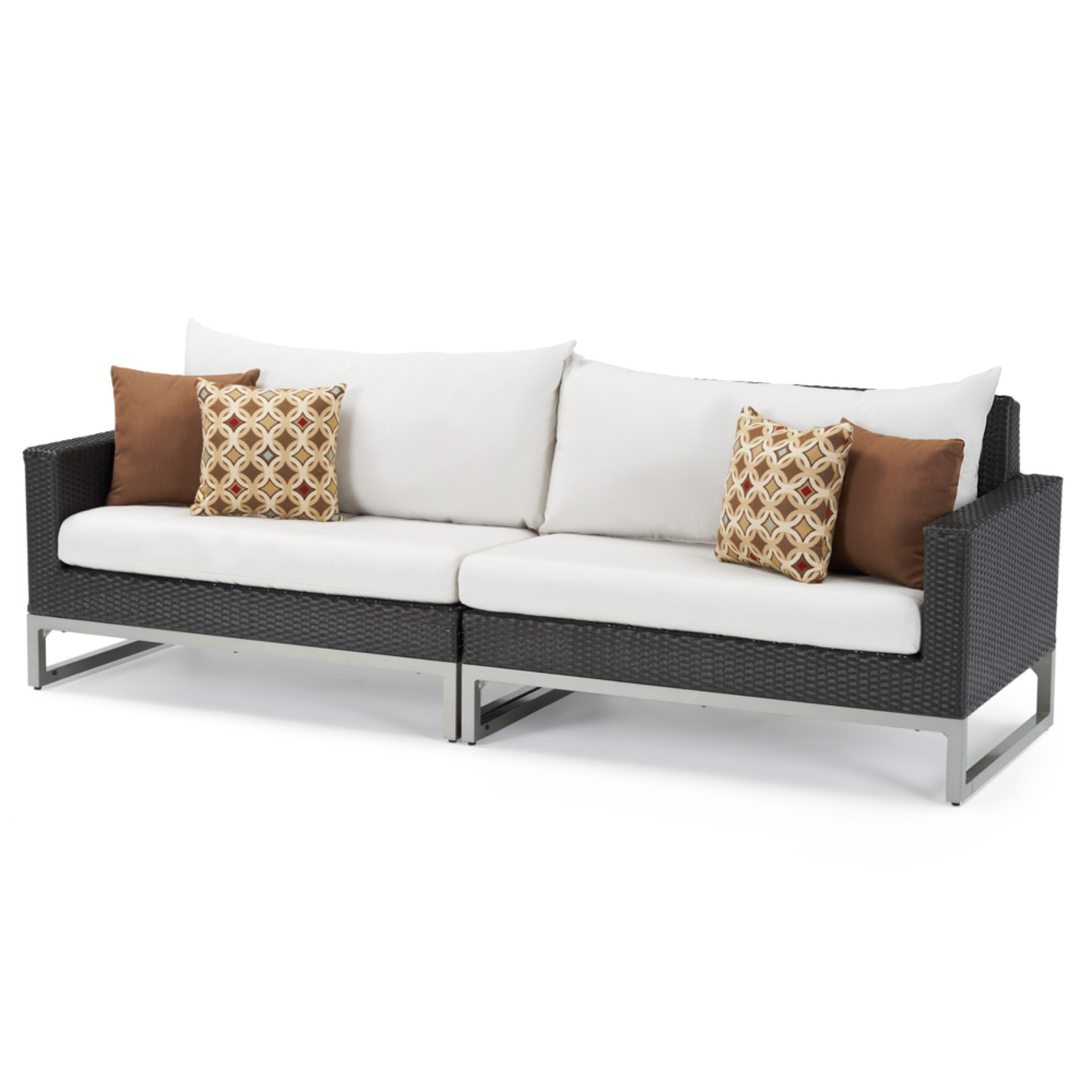 Milo™ Espresso 6 Piece Fire Sectional - Moroccan Cream