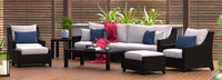 Deco™ 8 Piece Sofa and Club Chair Set - Bliss Ink